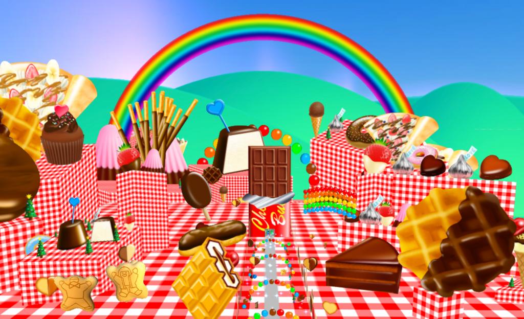 STYLYで制作したチョコレートタウン