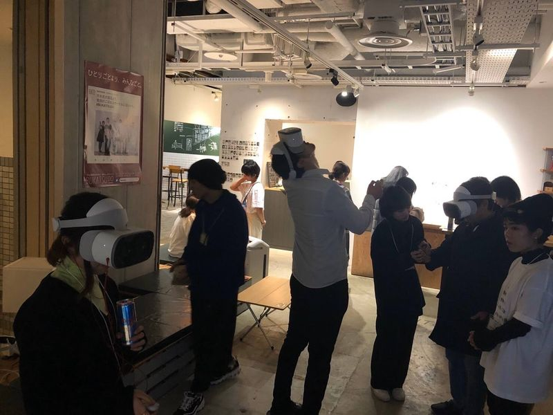 Red Bull VR Stand展示会場の様子