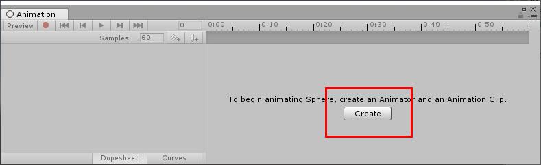 Createをクリック