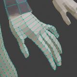 [Blender2.81] Creating fingertips of a photogrammetric model