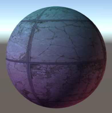 Before applying the normal map