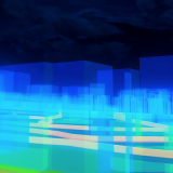 Try to create a cityscape using Blender GIS