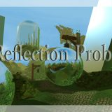 Using Unity's Reflection Probe lighting to represent reflections