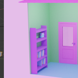 "[Blender 2.8] Using Archimesh Add-on for architecture (2) ""Inside the room. Let's make it!"""