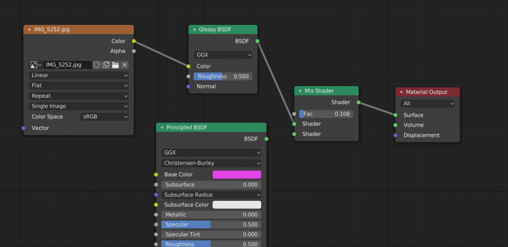 Add a second shader node