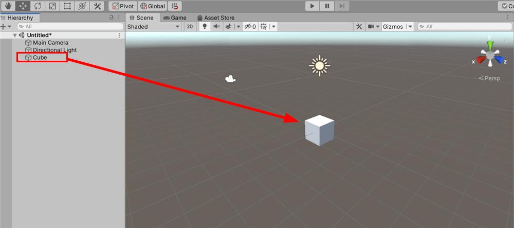 Adding a Cube
