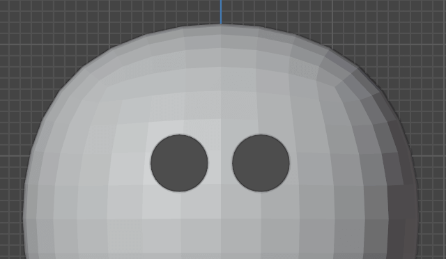 Both eyes are complete