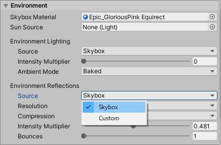 Set Skybox as Source