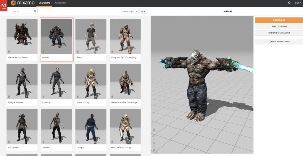 Mutant model