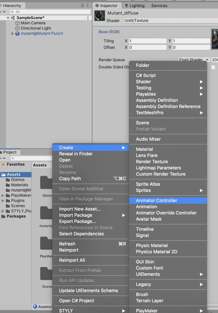 Create an Animator