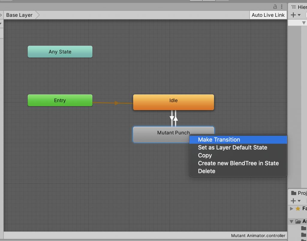Adding animation transitions