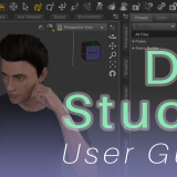 [DAZ Studio] (1) How to download / Basic operation / Creating a human body model