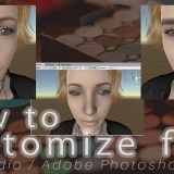 [DAZ Studio] (2) Customizing Human Body Textures in Photoshop