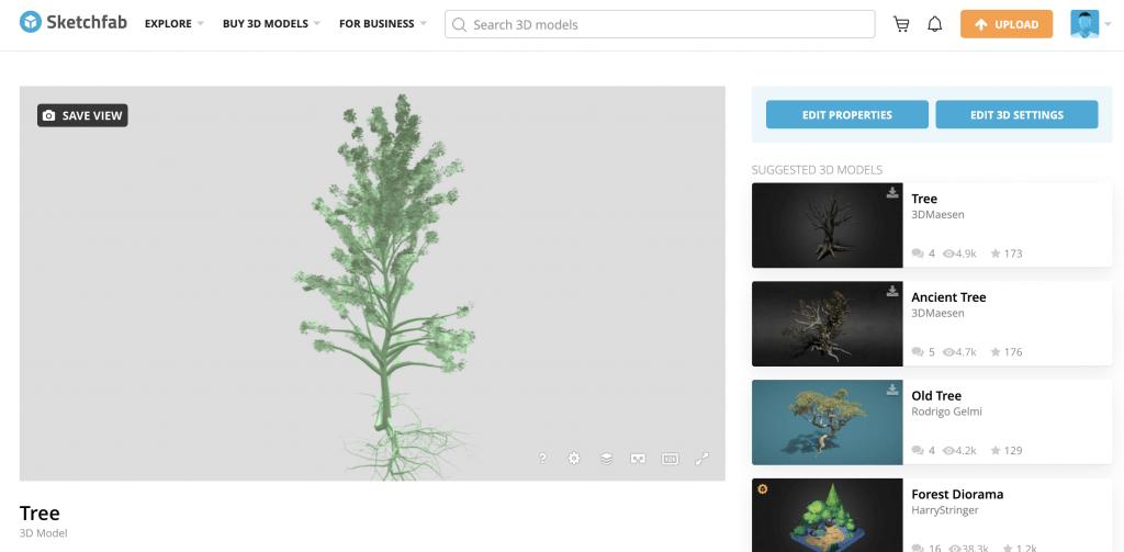 Upload 3D Model