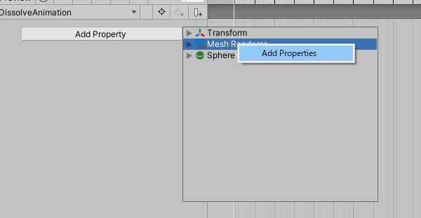 Select Add Properties