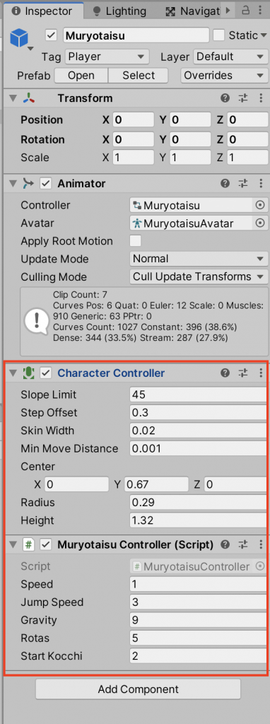 Remove some components