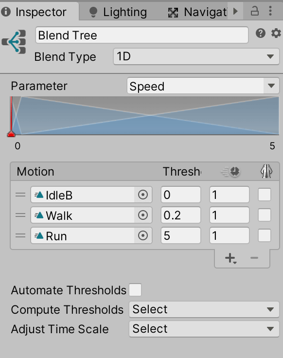 Change the reference to Speed and set the threshold value