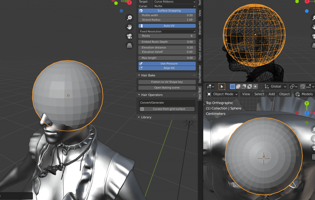 Add a new Sphere