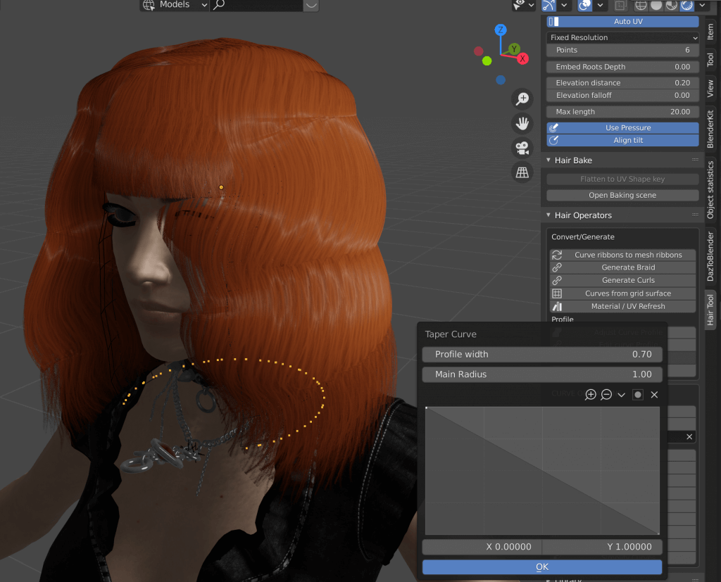 Be careful not to add too much volume, or the silhouette will become square.