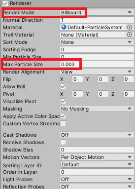 Editing the Renderer Module