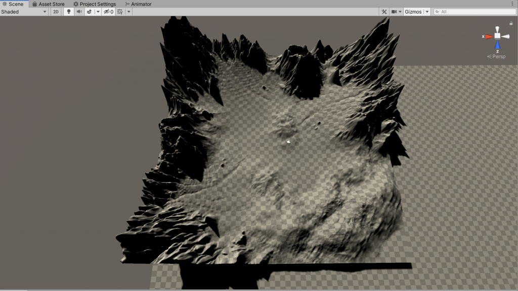 Terrain created in this project_1