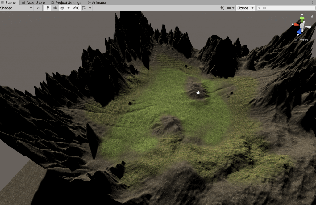 Setting a texture for the terrain