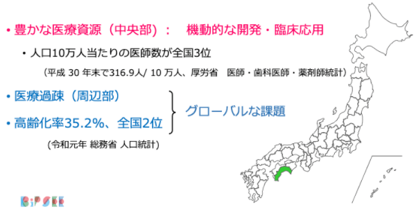 Medical resources and issues in Kochi Prefecture