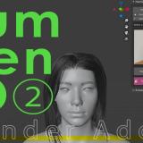 【Blenderアドオン】HumGen3Dでバーチャルヒューマンを作る②「服装、ポーズ、表情の設定方法編」
