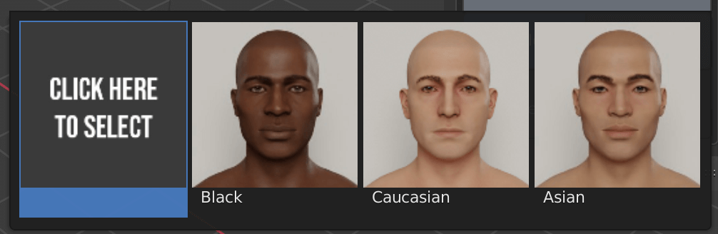 Select your race.