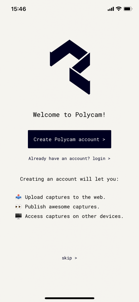 Welcome to Polycam!
