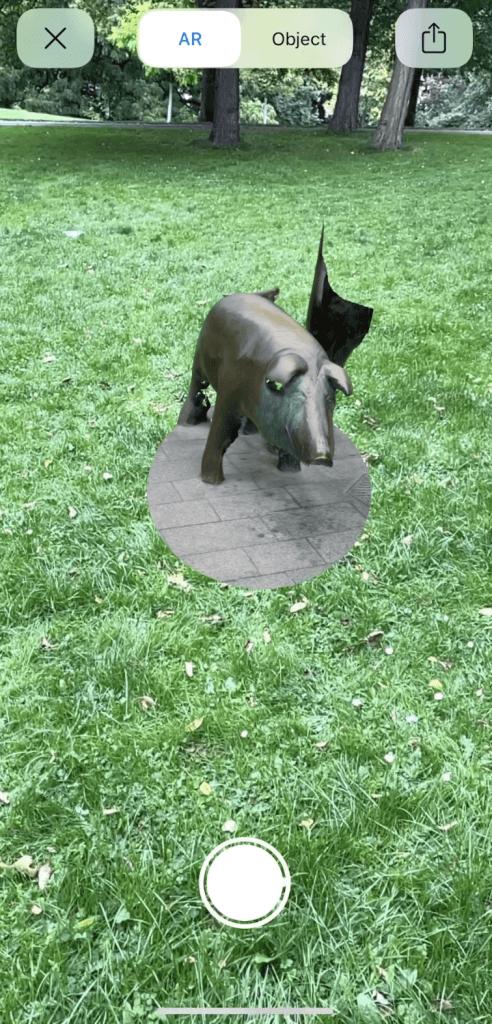 彫刻が公園へ