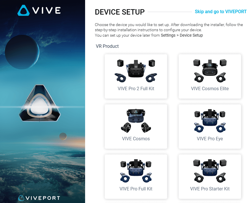 Device setting